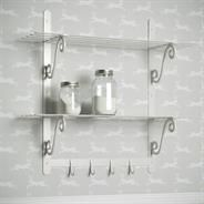 Our Hitcham #Shelves in Clay are simply beautiful. An #eleganty #storage solution.