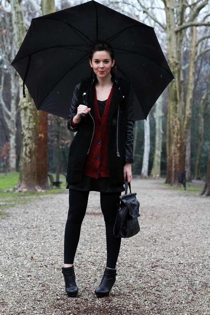 brilliant work outfit rainy day for women