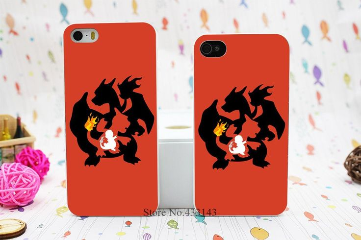 Charizard Evolution Case Skin for iPhone 5 5S