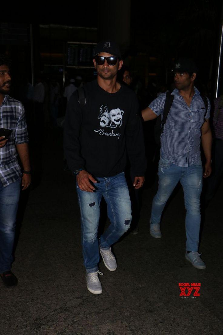 Mumbai: Sushant Singh Rajput seen at airport - Social News XYZ