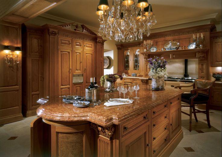 Clive christian kitchens regency honey oak kitchen with for Robert clive kitchen designs