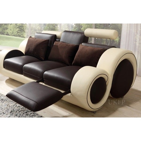 Luxury Recliners contemporary leather recliner sofa stresa incanto group | for the