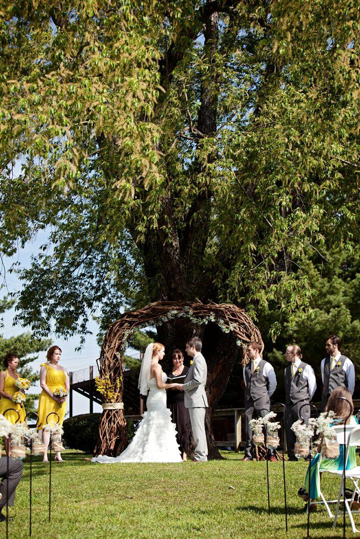 Rustic Outdoor Barn Wedding In Maryland 101
