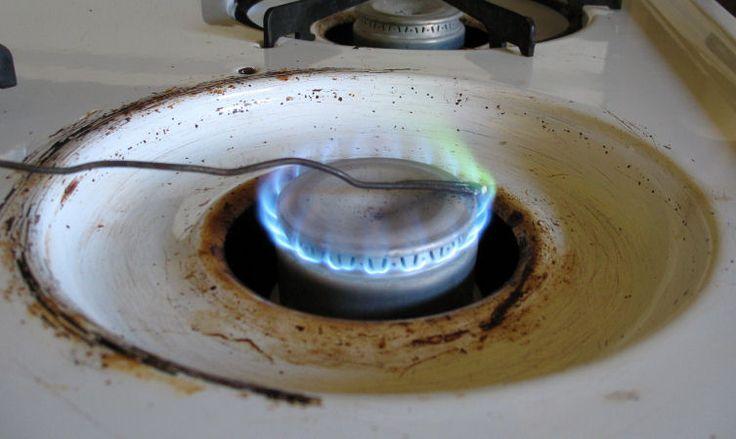 burning boric acid