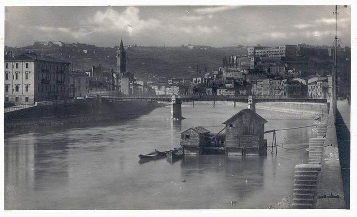Verona - Mulino al Ponte Navi - 1934