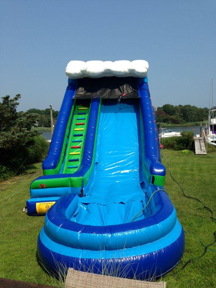 23'ft Wave Water Slide  www.flosinflatables.com
