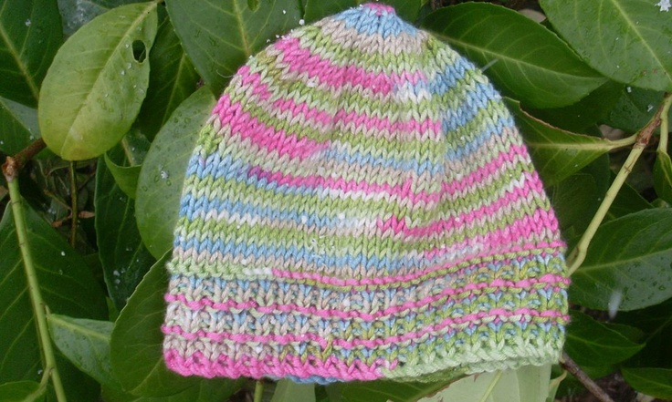 Hand Knitted Baby Hat