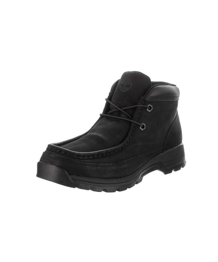 Timberland Men'S Stratmore Moc Toe Boot, Black
