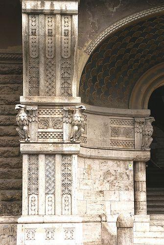 Rom, Quartiere Coppedè, Palazzo degli Ambasciatori (Coppedè-Viertel, Palast der Botschafter / Coppedè Quarter, Ambassadors' Palace)