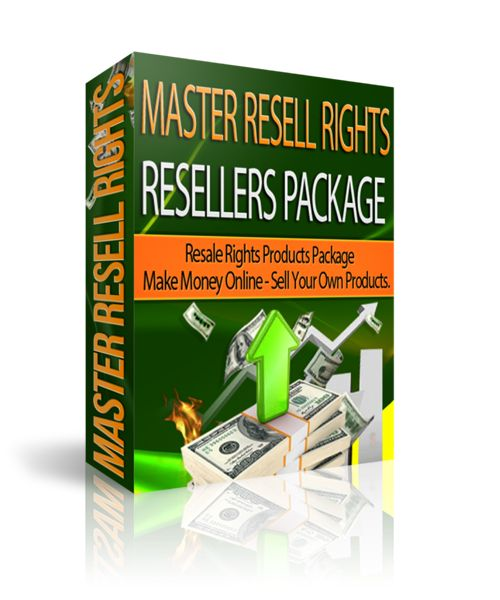 Master Resell Rights Resellers Package