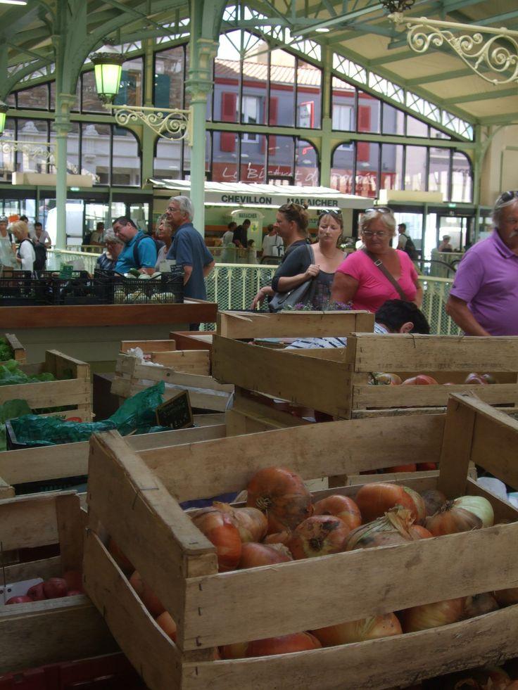 Le marché des Halles Centrales des Sables d'Olonne - Photos prises en Juillet 2013