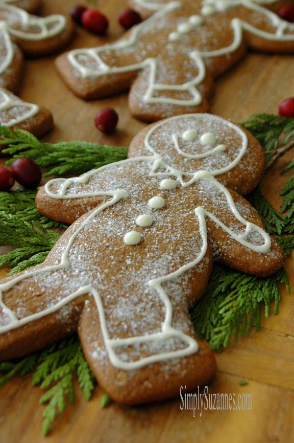 Simply Suzanne's AT HOME: old-fashioned gingerbread cookies