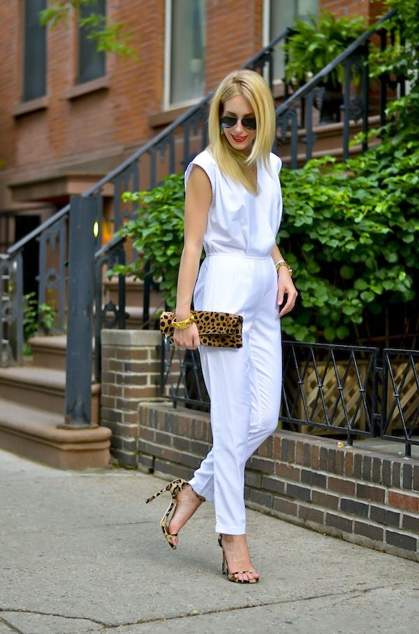 Katie's Bliss | White Wrap Front Jumpsuit - http://www.katiesbliss.com/2015/05/white-jumpsuit-nordstrom-yearly-sale.html/