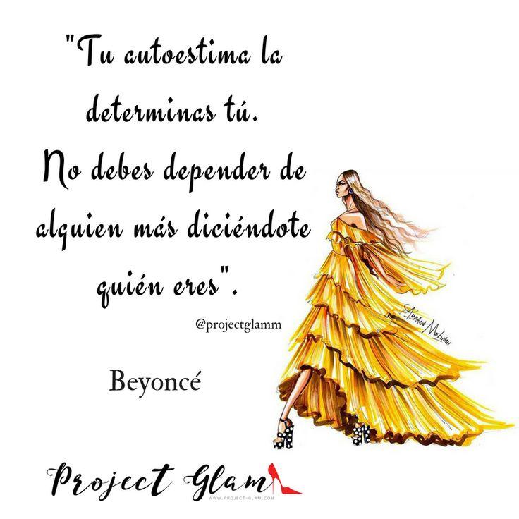 Beyoncé habla sobre la autoestima. Frases de mujeres exitosas.