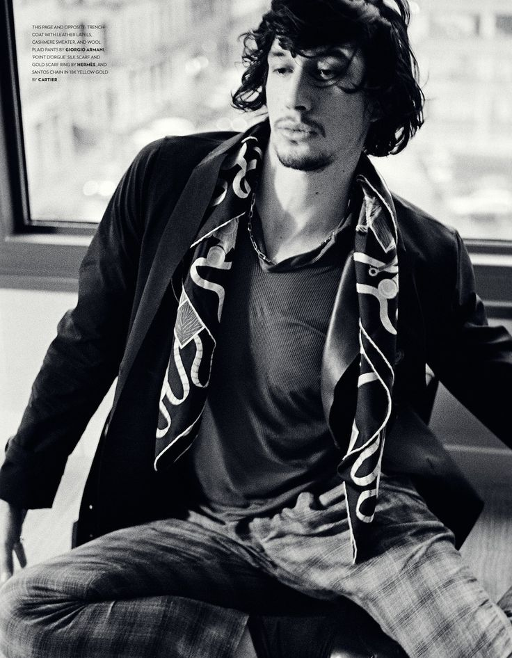 "Adam Driver's New Photo Shoot Will Help You Cope With ""Girls"" Withdrawal"