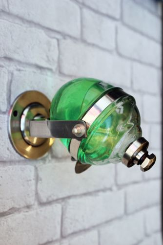 Retro Style Wall Mounted Liquid Soap Dispenser With
