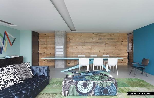 RL_house_4Studios Guilherme, Living Room, Interiors Design, Wooden Wall, Rl House, Wood Wall, Apartments Interiors, Apartments Design, Guilherme Torres