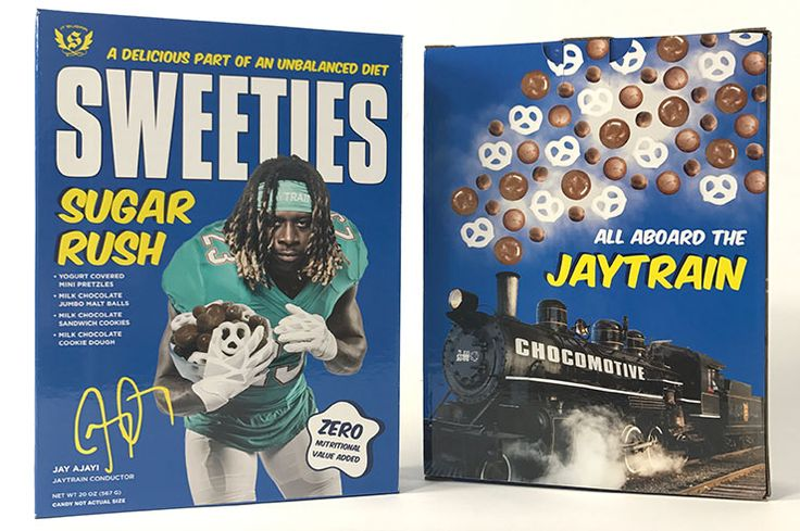 Miss the good ol' days of seeing your favorite athletes on your Wheaties box? IT'SUGAR is launching the retro favorite in a modern way, alongside two Florida athletes.