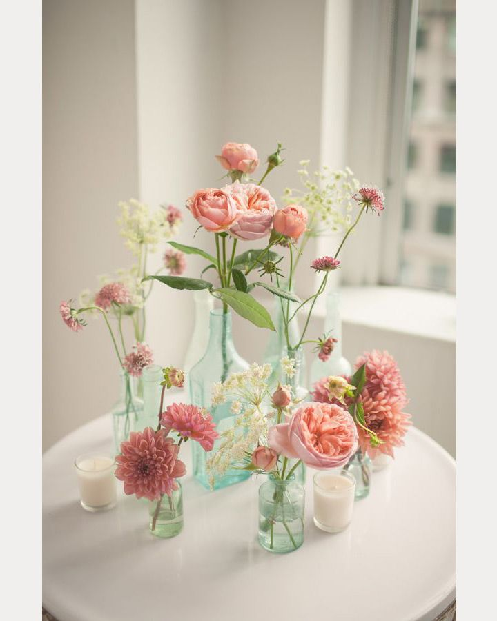 Floral Table Centerpiece Ideas: 25+ Best Ideas About Bud Vases On Pinterest