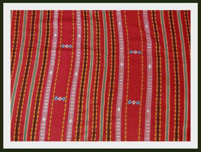 Tenun Alor, Indonesia Fabric Heritage. The fabric is from Alor Island, Nusa Tenggara Timur (NTT) Indonesia.