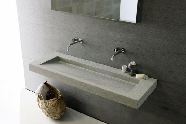 18 idées design de lavabo pour votre salle de bain moderne ...