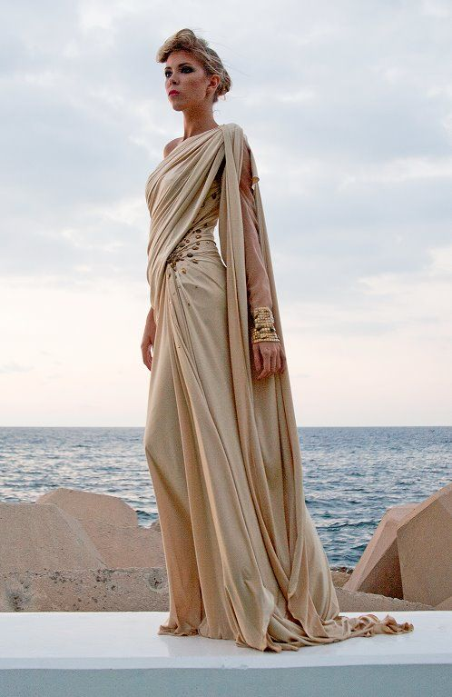 Looks very Greek....Edward Arsouni 2012 Collection