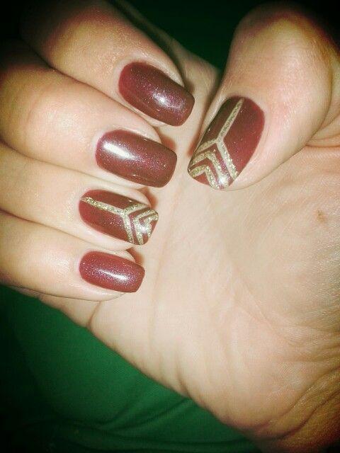 Gatsby style nail art