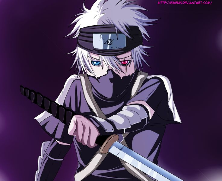 I LOVE this picture of Kakashi when he was young, even ...