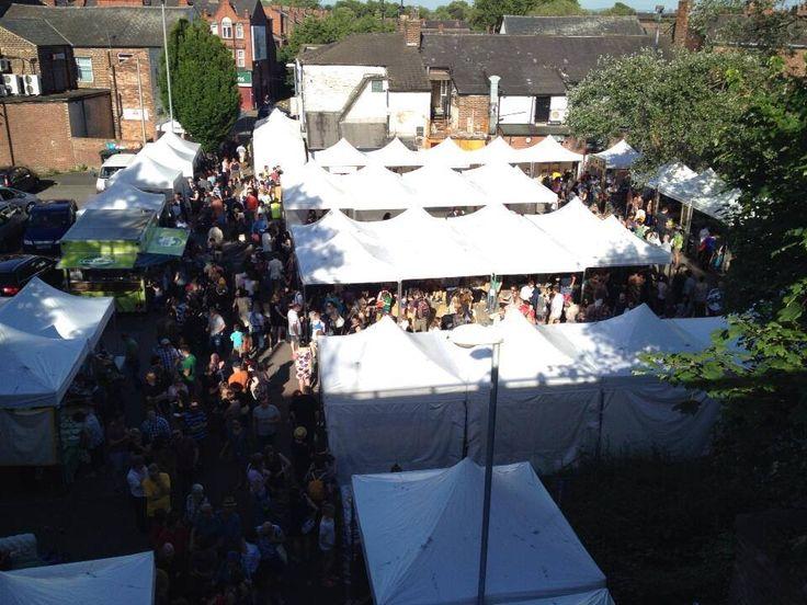 Levenshulme Market in Manchester