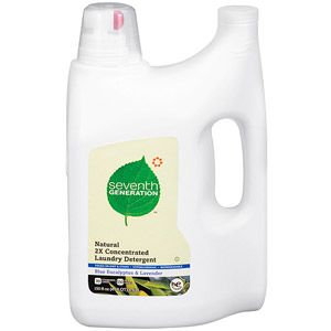 Seventh Generation 2X Concentrated Blue Eucalyptus and Lavender Natural Laundry Detergent, 150 fl oz  #WalmartGreen