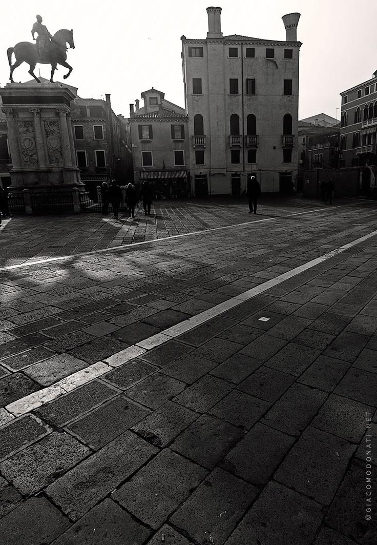 Shadows and lights around Venice