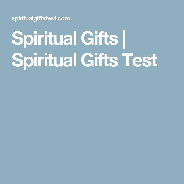 Spiritual Gifts   Spiritual Gifts Test