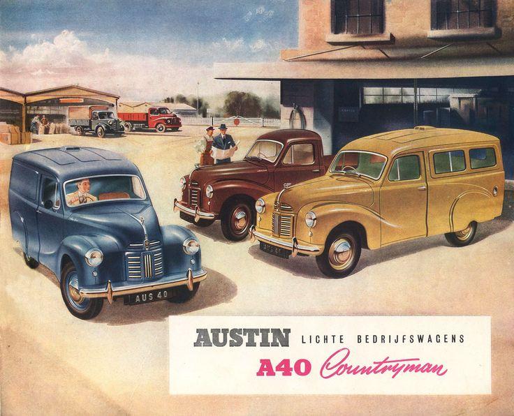 1950 Austin A40 Countryman