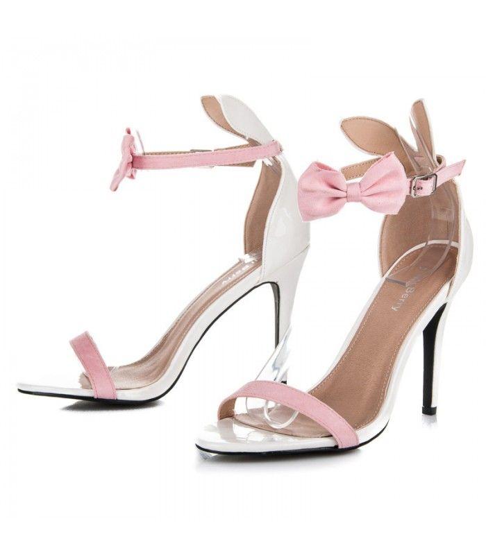 Lakované sandále s uškami 108-3W