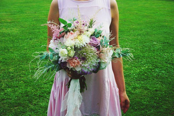 Dalia w roli głównej. #bouquet #flowers #wedding #florist #rustic