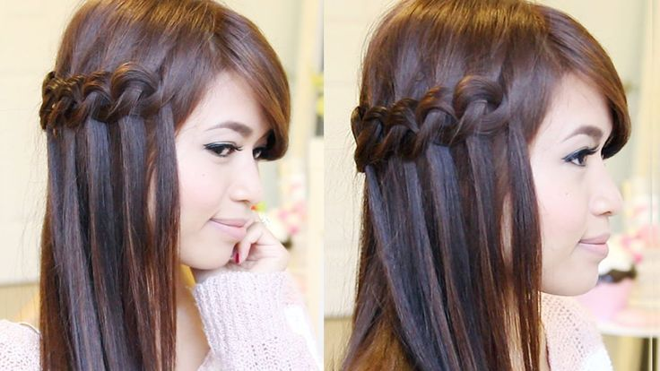 This hair tutorial will show you how to create a Knotted Loop Waterfall Braid. Thumbs up if you likey! ➟ NuMe Titan 3 Giveaway: http://youtu.be/I11zNz1CNQ0 ➟....