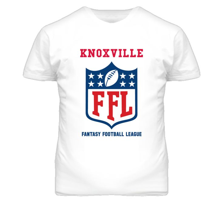 Knoxville Fantasy Football League T Shirt