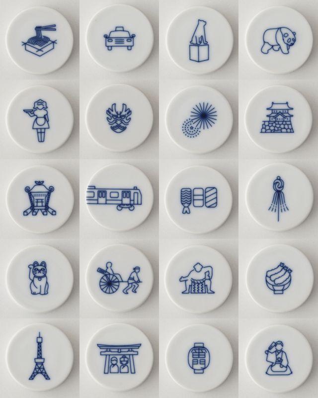 東京の魅力を69のアイコンで表現した「TOKYO ICON」をおみやげにどうぞ | roomie(ルーミー) http://www.roomie.jp/2015/08/281700/