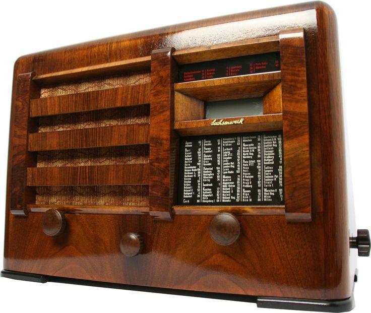 Sachsenwerk Olympia Super 54 mit Bluetooth Röhrenradio  tube radio 3DS 5010