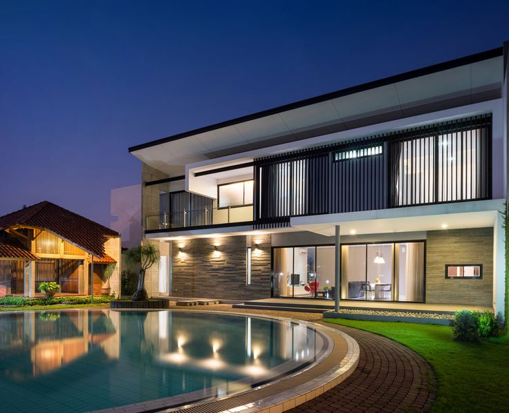 Modern D+S House Located In Jakarta By DP+HS Architects 16