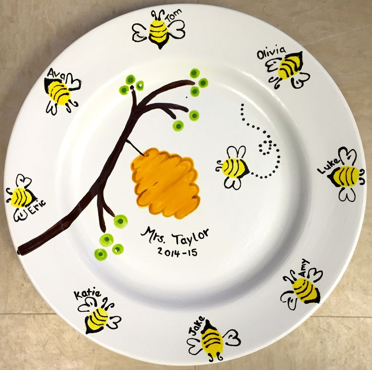 Busy Bees Teacher Gift Made By Art Soul