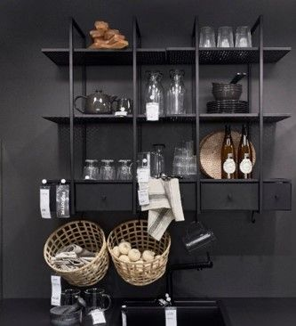 FALSTEBRO wandkast | #IKEAnl #IKEA #keuken #kast #zwart