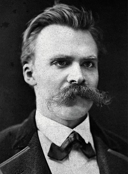 Nietzsche in Basel, c. 1875 - Friedrich Wilhelm Nietzsche (1844 – 1900) was a German philologist, philosopher, cultural critic, poet & composer. He wrote several critical texts on religion, morality, contemporary culture, philosophy & science, displaying a fondness for metaphor, irony & aphorism. Nietzsche began his career as a classical philologist—a scholar of Greek & Roman textual criticism—before turning to philosophy.