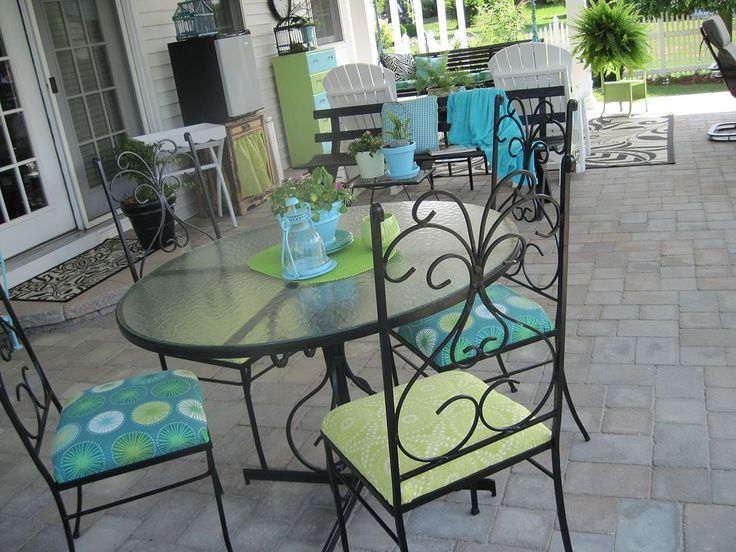 Our Patio Has Evolved Into An Outdoor Room And An Extension Of Our Home.  Iron TableDining SetWrought ...
