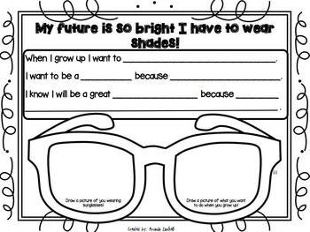 Writing: My Future Is So Bright I Have To Wear Shades