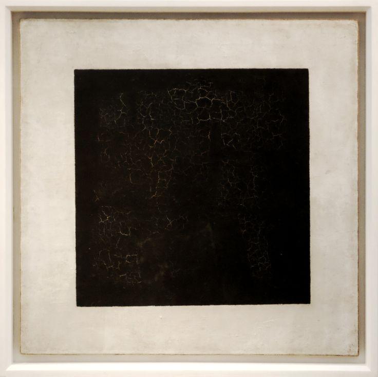 Kasimir Malewitschs Schwarzes Quadrat von 1915