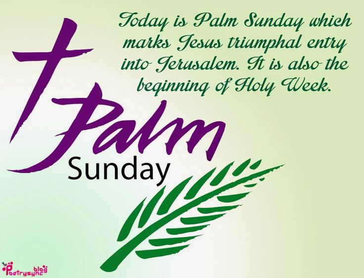 Palm Sunday Quotes | Palm Sunday Quotes And Sayings With Quote Pictures