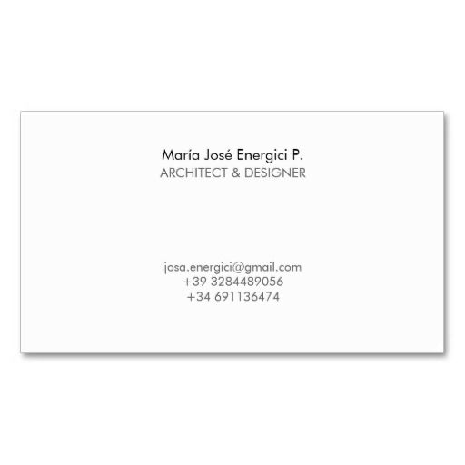 Círculos mínimos y modernos del garabato del tarjetas de negocios