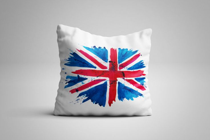Union Jack Cushion. 12 x 12 inch Cushion by NJsBoutiqueCo on Etsy