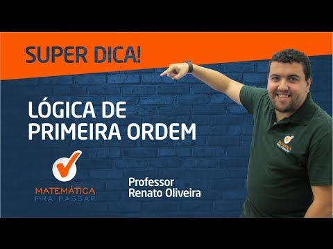 QUIZ LÓGICA DE PRIMEIRA ORDEM - MATEMÁTICA PRA PASSAR